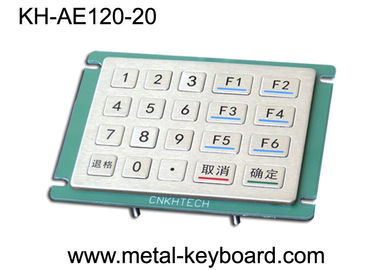 Çin 20 Keys Anti Vandal industrial keypad , Outdoor Access entry keypad Tedarikçi