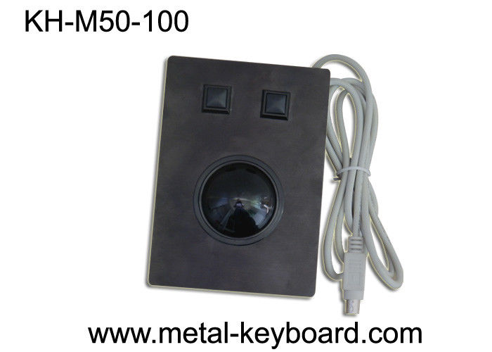 Waterproof Industrial Pointing Device Resin Trackball For Medical / Marine Areas