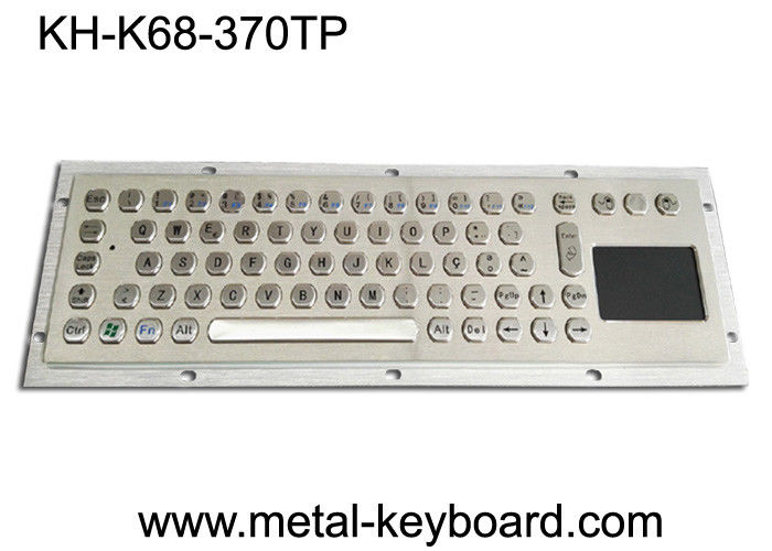 Water proof Rugged Industrial ss keyboard with 70 PC keys layout