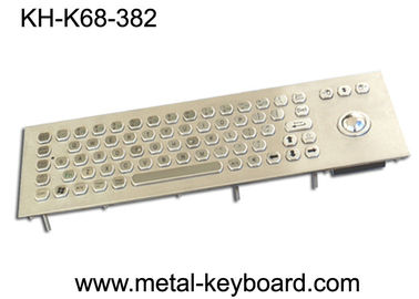 71 Keys Industrial Computer Keyboard , Stainless steel Keyboard for Self service Terminal