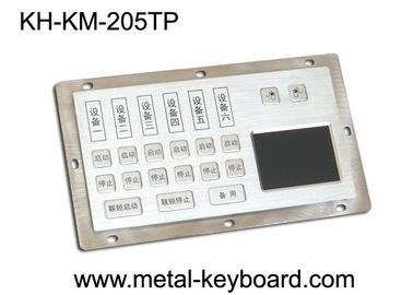 Çin Dust - Proof Panel Mount Keyboard with Stainless Steel Material for Info - Kiosk Fabrika