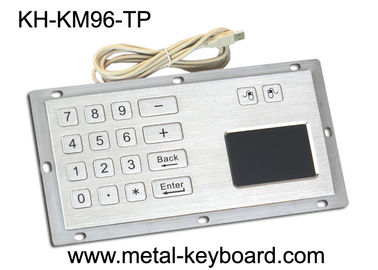 Çin Industrial Panel Mount Touchpad Keyboard with USB Interface , Custom Mechanical Keyboard Fabrika